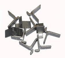confezione da 4 alluminio supporti per mensole per metallo righe sistema.