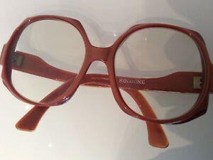 Unikat Designer Damen Brille France JACQUES FATH Vintage 70er Luxury eyeglasses