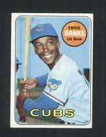 1969 Topps #20 Ernie Banks EX+ Cubs 125072
