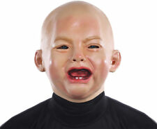 Morris Costumes Adult Crying PVC Baby Mask One Size. MR131319