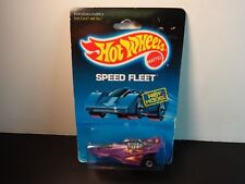 Hot Wheels Purple XT-3 w/ cereal promo RARE as in pkg dated 1988 MOC