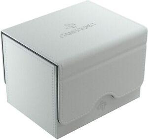 Sidekick 100+ Card Convertible Deck Box: White GameGenic Asmodee NEW