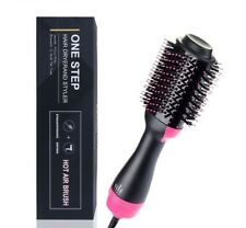 Hair Dryer and Volumizer Salon Hot Air Paddle Styling Brush Ion Generator