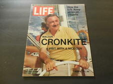 Life Mar 26 1971 Walter Cronkite; U.S. Army Spies On Citizens (Gasp!)   ID:21561