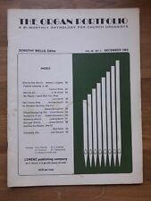 Orgel ? The Organ Portfolio, Dec 1985 ? 12 Liturgical Organ Pieces, *Sehr Rar!*