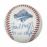Fred McGriff Braves Autographed 1995 World Series Signed Baseball TRISTAR COA