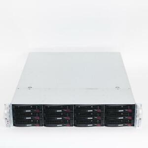 Supermicro CSE-826BE1C-R920LPB 2U Server Chassis 2x 920W 12-Bay BPN-SAS3-826EL1