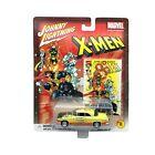 Johnny Lightning X-Men 1955 55 Chrysler C-300 Car Yellow Diecast 1/64 Scale #356