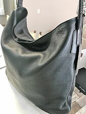 Gucci Mens / Unisex Large Soft Deer Leather Slouchy Messenger Hobo Bag Msrp 2950