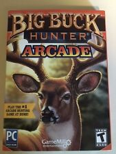 Big Buck Hunter: Arcade (PC/DVD ROM, 2016) New.