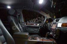 VW Touareg I (7L) LED SMD Innenraumbeleuchtung Set Premium XXL 6000K WEISS LS01