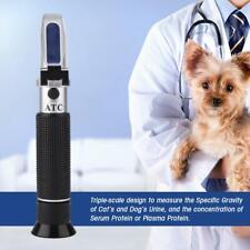 Pet Cat Dog Urine Specific Gravity Refractometer Clinical Pet Refractometer