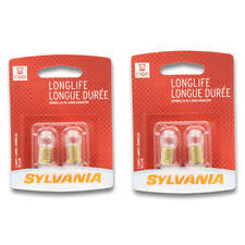 Sylvania Long Life - Two 2 Packs - 57LL Light Bulb Auto Trans IndicatClock hu