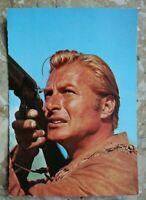 Kino Postkarte AK SCHATZ IM SILBERSEE 1962 Old Shatterhand Lex Barker Gewehr