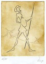 Artisteri / Llop - grabados aguafuerte Quixot 20
