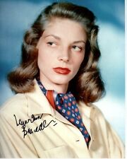 LAUREN BACALL Signed Autographed Photo