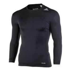 Adidas Techfit Base T-Shirt Black Medium AJ5016