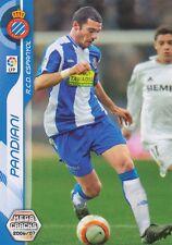 N°125 WALTER PANDIANI # URUGUAY RCD.ESPANYOL CARD PANINI MEGA CRACKS LIGA 2007