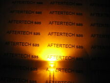 5mm 100pz LED YELLOW ULTRABRIGHT FLAT HEAD 8000mcd