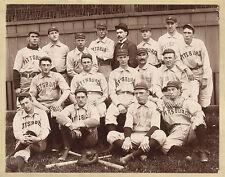 "1896 Pittsburgh Pirates, Antique BASEBALL team photo, 14""x11"""