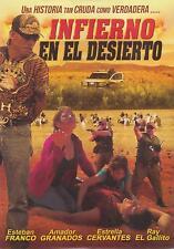 Infierno En El Desierto DVD NEW Amador Granados NARCO Pelicula Corridos SEALED