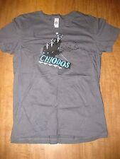 CHIODOS juniors medium T shirt brothers Michigan hardcore reindeer head bats