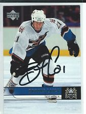 Brooks Laich Signed 2006/07 Upper Deck Card #195