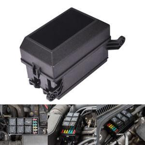 Automotive Fuse Relay Holder 12-Slot Relay Box 6Relays 6 ATC/ATO Fuses Universal