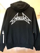 FOG-FEAR OF GOD X PACSUN SOLD OUT METALLICA BLACK PULLOVER HOODIE!!!