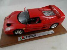 1:18 Bburago #3752 1995 Ferrari F 50 rot auf Platte neuwertig in OVP