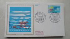 FDC Enveloppe Premier Jour - CEF - Championnats du monde de cyclisme - 03/06/89