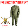 GENUINE British Army COVERALL OLIVE Green Military Surplus mechanic reme overall