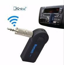 JKNIX Wireless Bluetooth 3.5mm AUX Audio Stereo Music Car Receiver Adapter