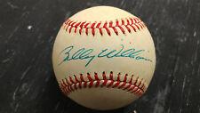 Billy Williams Signed Bart Giamatti NL Baseball JSA COA