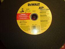 """(3) DeWalt Dw8057 Ta24T Xp Metal Stud Cutting Wheel 12"""" x 7/64"""" x 1"""" New"""