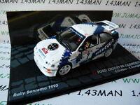 coche 1/43 IXO Rallye ITALIA FORD ESCORT RS cosworth 1993 San Remo Cunico