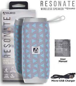 Aduro Resonate Extra Bass Wireless Bluetooth Speaker Outdoor TF AUX Flip In