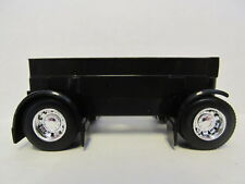 DCP 1/64 SCALE  BLACK SPREAD AXLE TRAILER SUSPENSION WITH TIRES AND WHEELS