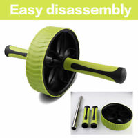 New Ab Wheel for Abdominal Waist Exercise Roller Fitness Gym Workout Exercise