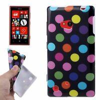 Housse de Protection Couverture TPU Design Pois Coque Pour Téléphone Nokia Lumia