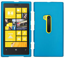 INDIGO BLUE RUBBERIZED HARD SHELL CASE COVER FOR NOKIA LUMIA 920