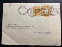 1927 Toronto Canada Postal Stationery front Cover To Newfoundland