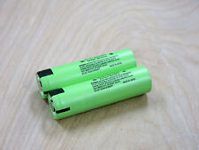 2 Genuine Panasonic NCR18650PF 18650 2900mAh 3.7v IMR Flat Top Li-Ion Battery