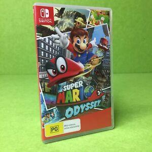 Super Mario Odyssey   Nintendo Switch   Warranty  