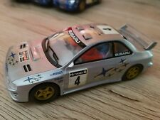 scalextric subaru wrx rally car