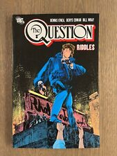 NEW! DC The Question - Vol. 5: Riddles - First Printing - Rare OOP TPB