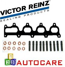 Victor Reinz Exhaust Manifold Gasket + 10x Bolts And Nuts For Opel Astra 2.0