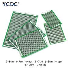 5/10 Unids Duel Sides PCB Placa De Circuito Impreso Universal Prototipo F6BE