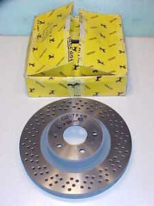 Ferrari Testarossa Front Brake Rotor Disc_153730_512TR_512 M_New_Factory Box_OEM