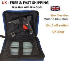 Pistola de Pegamento Caliente 60W Kit +15 Gratis Pegamento pega de Encendido/Apagado Interruptor 11*220mm artesanía Hazlo tú mismo